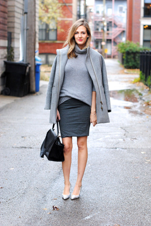 see jane coat sweater skirt shoes bag