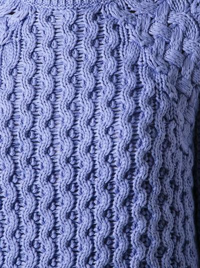 Acne Cotton 'ruth Air' Sweater -  - Farfetch.com