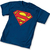 Superman t-shirt Symbol Navy Mens T-Shirt DC Comics | eBay