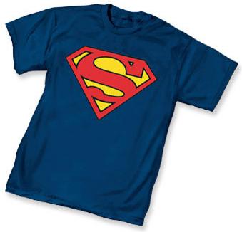 Superman t-shirt Symbol Navy Mens T-Shirt DC Comics | eBay