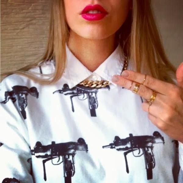 martina m t-shirt jewels