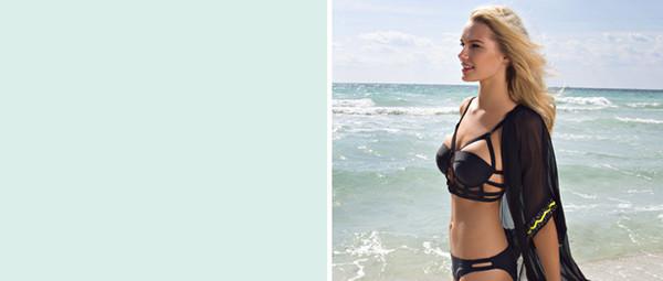 swimwear cut out bikini