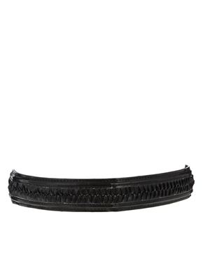 ASOS | ASOS Woven Plait Waist Belt at ASOS