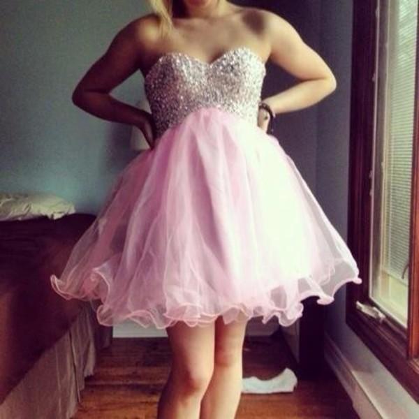 pink dress pastel goth