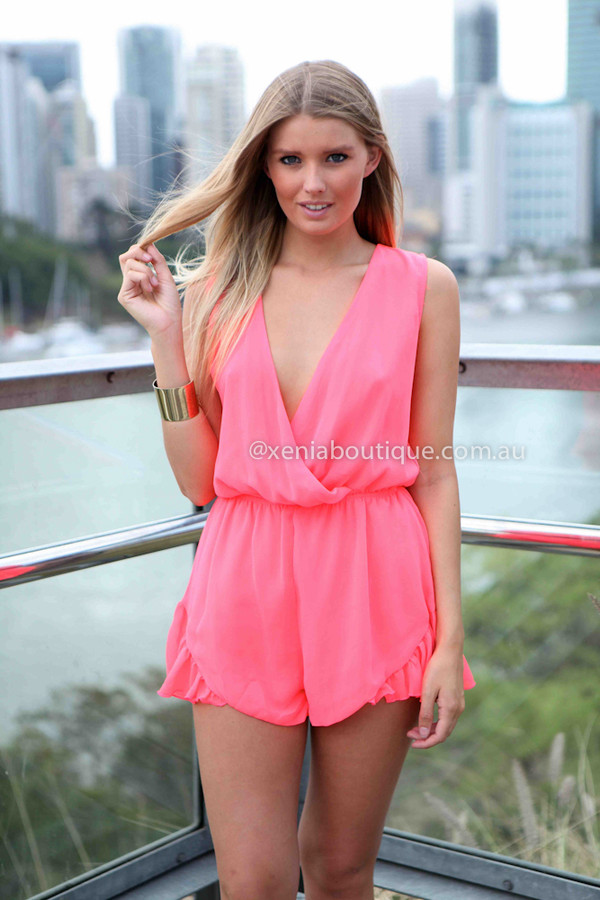 dress ootd ootn romper frill style model australia xeniaboutique women's clothing and accessories