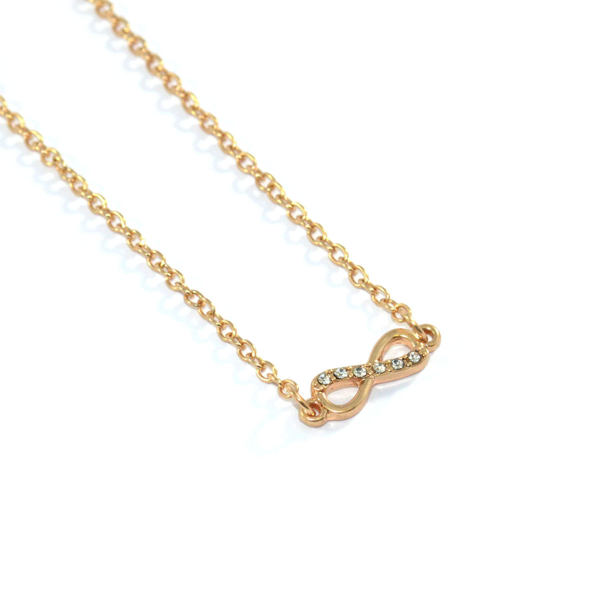 CRYSTAL INFINITY NECKLACE - Rings & Tings | Online fashion store | Shop the latest trends