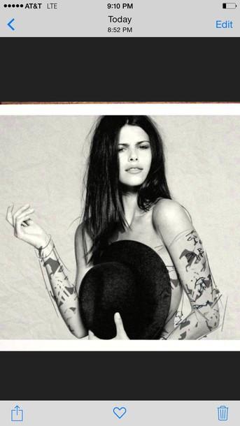 fedora tattoo