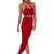 Red Longer Lengths Dress - Empire Maxi | UsTrendy