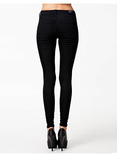 Plenty Denim Leggings - Dr Denim - Sort - Jeans - Tøj - Kvinde - Nelly.com