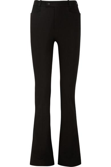 Joseph Rocket stretch-gabardine bootcut pants NET-A-PORTER.COM