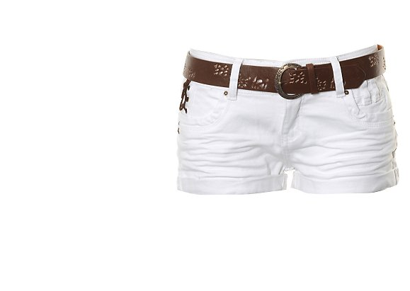 Stolen  Belted Hot Pants - BANK Fashion