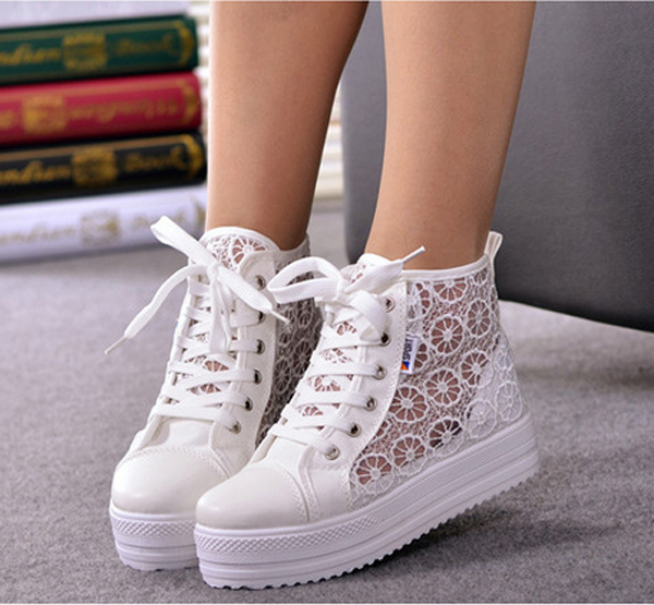 High- Soled Breathable Casual Shoes SS05173SH on Luulla