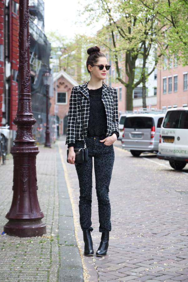 fashion fillers blouse jacket jeans shoes bag sunglasses