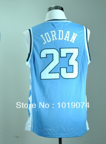 Cheap college basketball jersey North Carolina Tar Heels #23 Michael Jordan white/blue men's college basketball shirt-in Sports Jerseys from Apparel & Accessories on Aliexpress.com