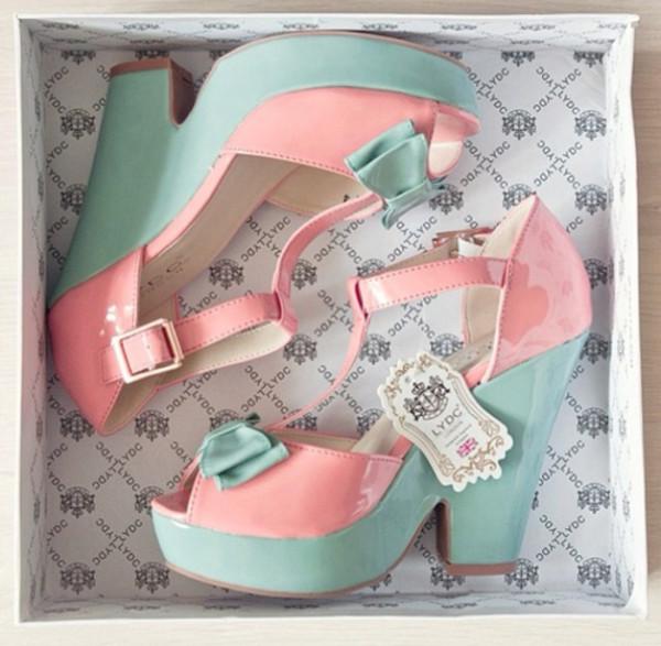 shoes pink pastel kawaii cute kitten heels heels lydc sweet sweetheart dress