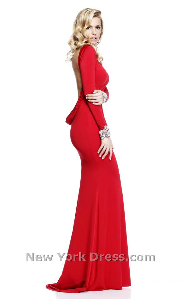 Tarik Ediz 92271 Dress - NewYorkDress.com