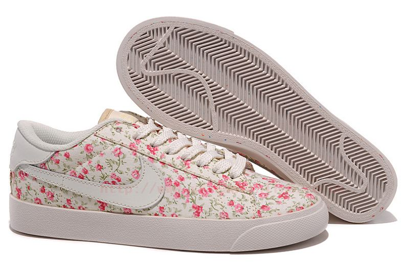 EbD837 Nike Blazer 3 Low Bloom Womens Trainers UK Trainers UK Cherry-Red Floral : Cheap Nike Air Max Shoes UK Sale Online