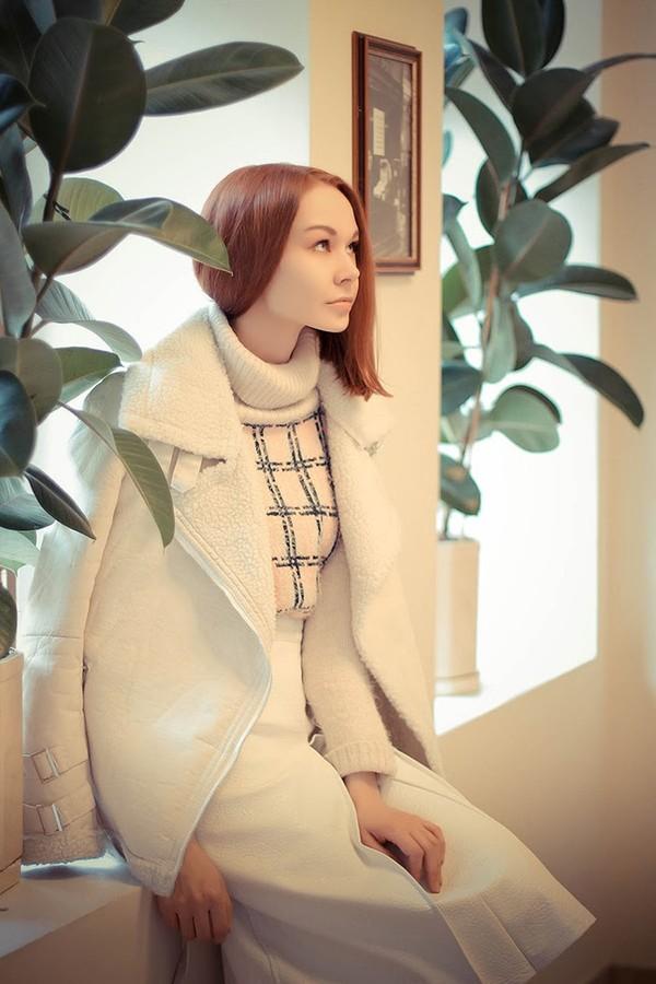 coat Choies white coat sweater skirt fashion style brand