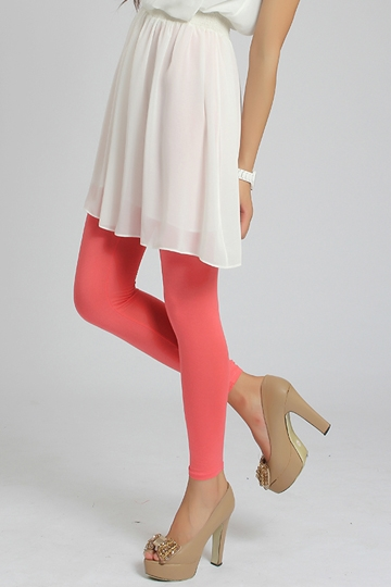 Candy Color Ankle-length Thin Legging [FBBI00131]- US$ 4.00 - PersunMall.com