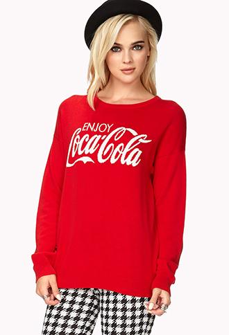 Fresh Coca-Cola Sweater | FOREVER21 - 2040588046