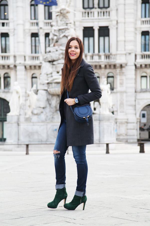 irene's closet bag jewels shoes sweater jeans