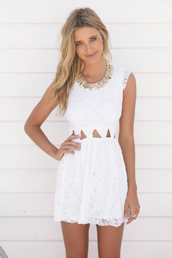 dress white dress white dress white tumblr tumblr girl tumblr clothes tumblr dress streetstyle streetwear lace dress lace