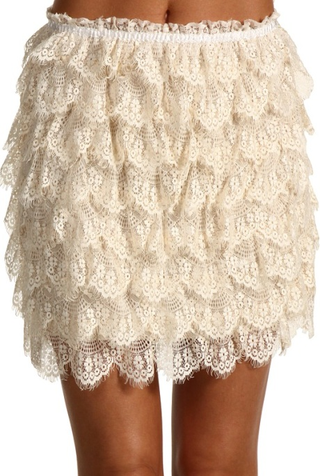 Gabriella Rucha Lace Skirt