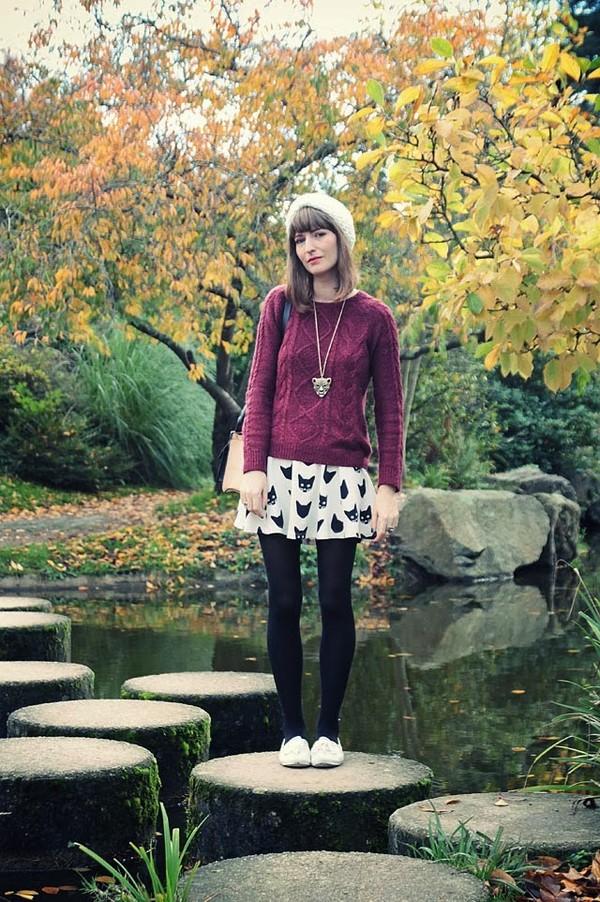 summer crush jewels sweater skirt shoes bag nail polish