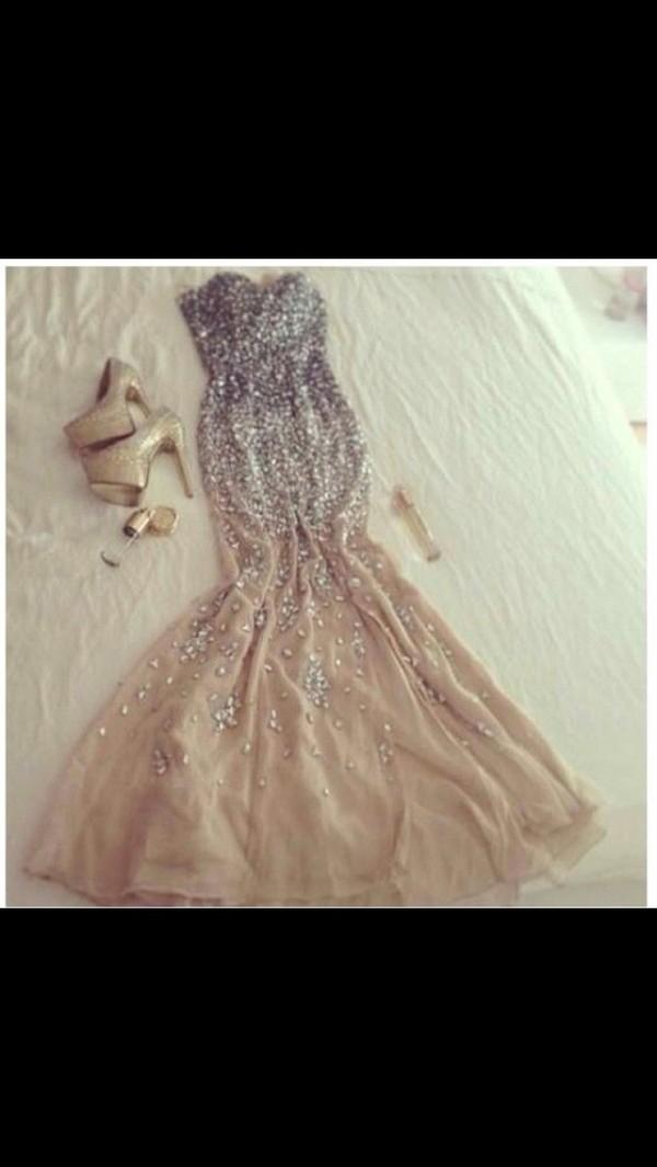 dress prom dress long prom dress prom dress mermaid prom dress bag shoes nude high heels cute high heels nude pumps