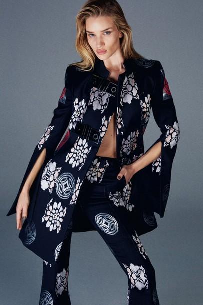 coat rosie huntington-whiteley
