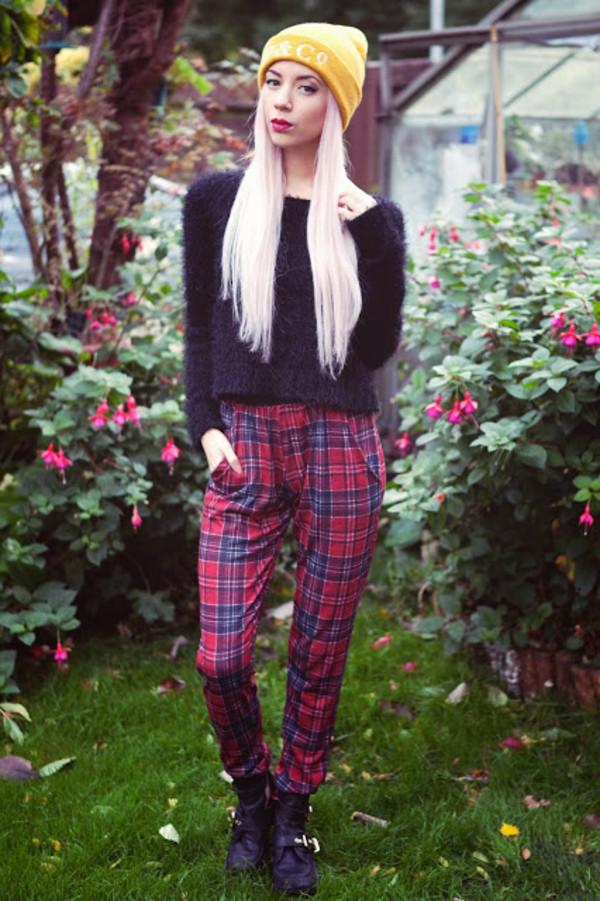 leanne lim walker hat sweater pants
