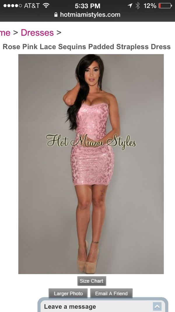 dress pink dress sexy lace dress pretty