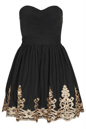 **Lila Bandeau Dress by TFNC - New In This Week  - New In  - Topshop
