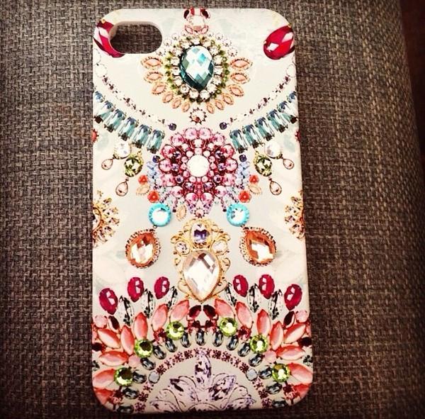 bag gem crystal iphone phone cover girly 3d design