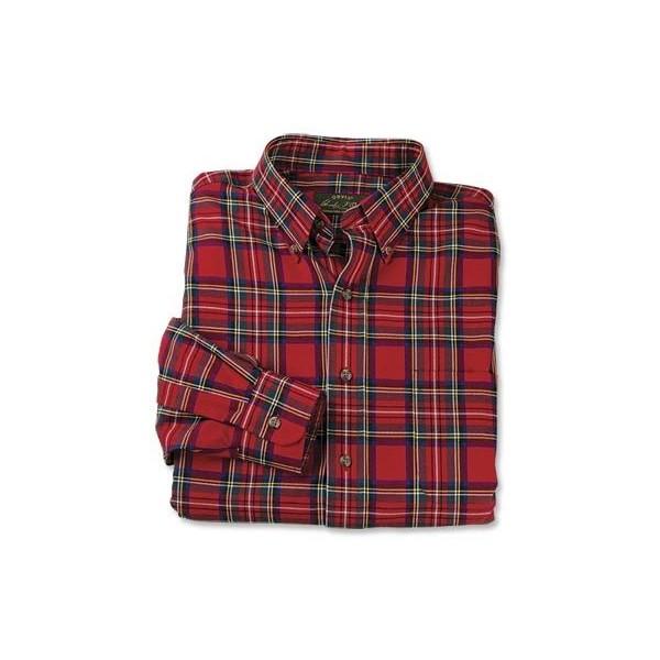 Luxury Cotton Merino Tartan Shirt - Polyvore