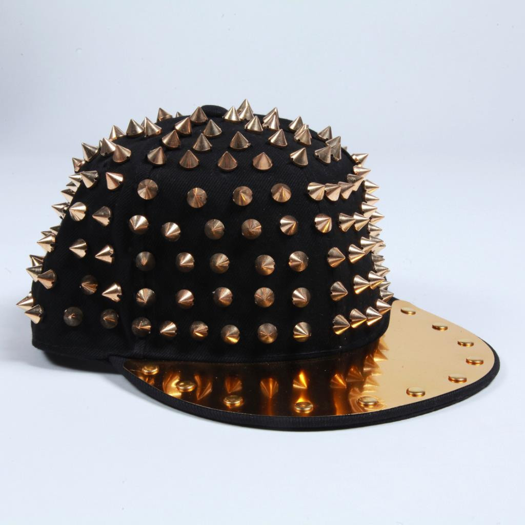 Studded Hat (Round Top) | Obsezz