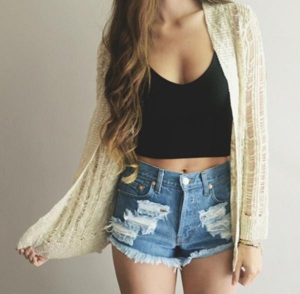 blouse vest crop tops