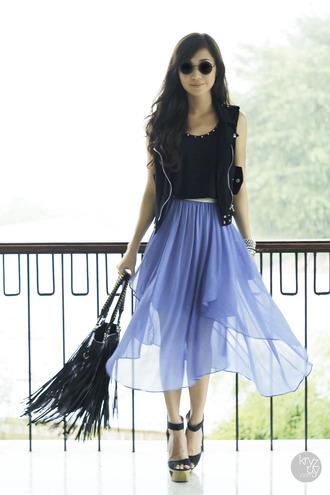 kryzuy t-shirt skirt jacket shoes bag jewels sunglasses