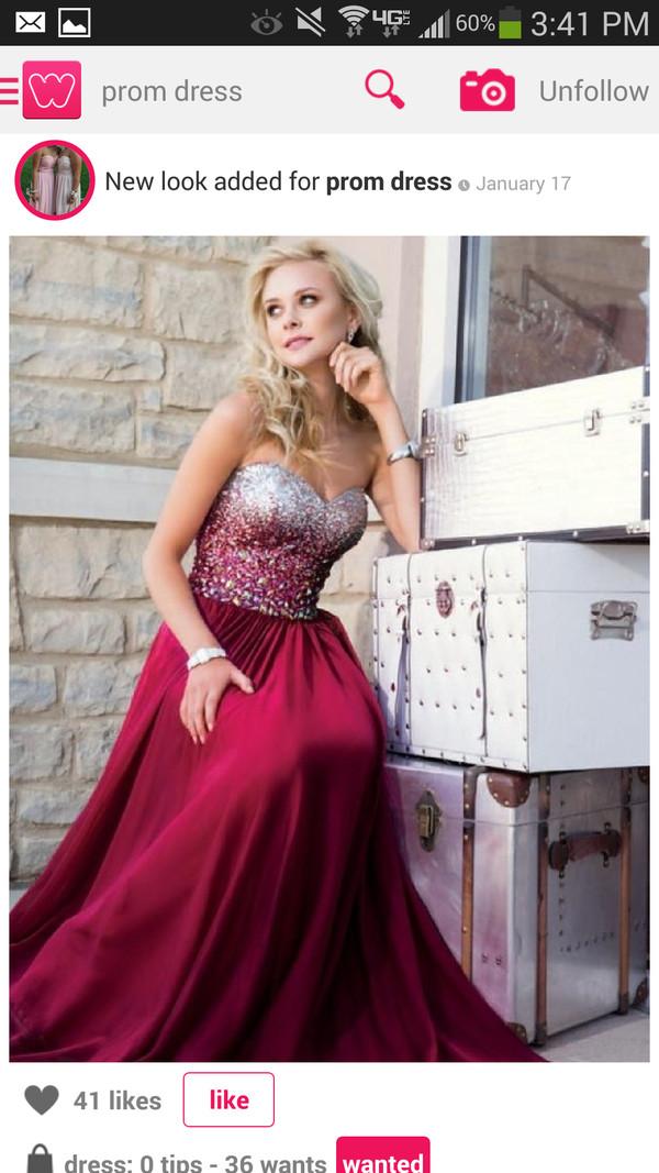 dress long prom dress prom dress red dress red prom dress