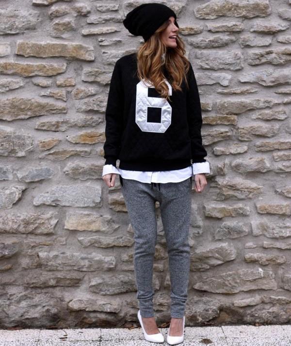 rebel attitude sweater pants shirt shoes hat