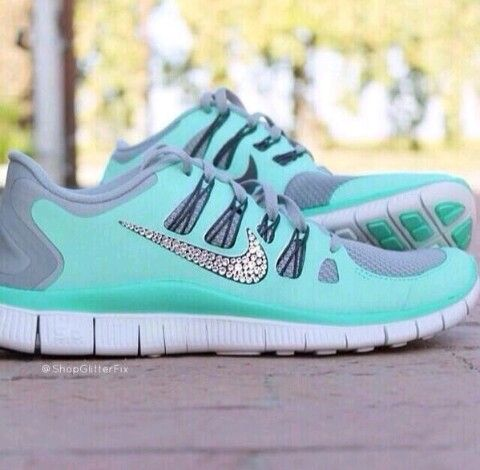 Nike Free 5.0 Womens Tiffany Blue Cool Grey