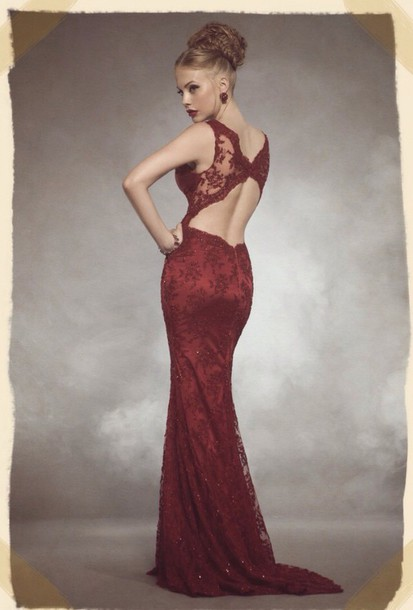 dress marron long prom dress sexy dress style elegant dress