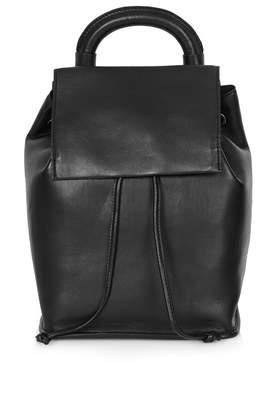 Premium Clean Leather Backpack - Backpacks - Bags & Purses - Bags & Accessories- Topshop