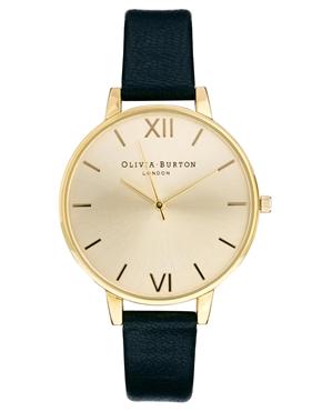 Olivia Burton | Olivia Burton Big Dial Black Watch at ASOS