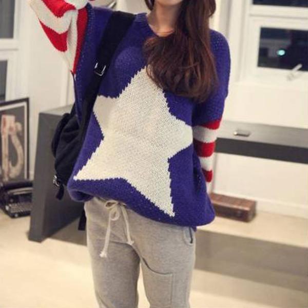 sweater leisure oversizae