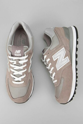 shoes new balance grunge sports shoes casual casual shoes white grey etc