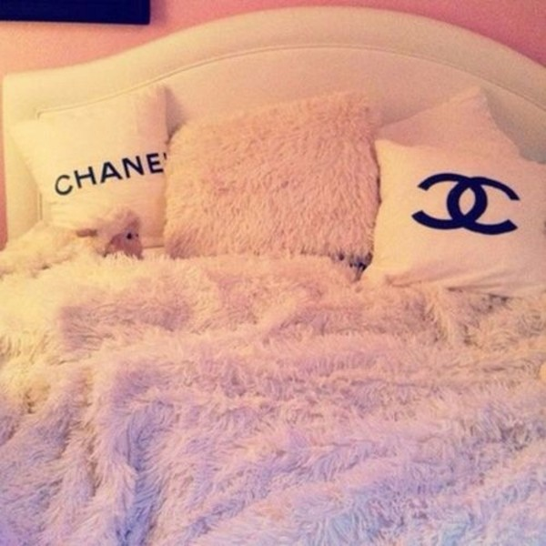 tank top sweater coat chanel white dress cardigan this fashion is mine jewels blanket quilts fashion blouse pillow bedding fluffy baby pink home accessory cushion case smooth cushion bedroom cozy girly bedding pink bedroom pink pillow pink chanel tumblr bedroom duvet set pillow top white furry blanket