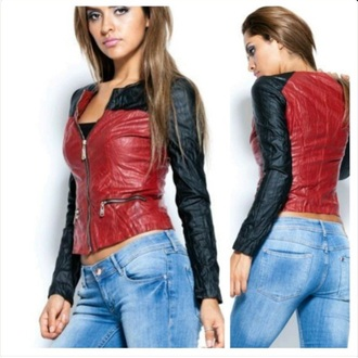 jacket crop jacket motorcycle jacket leather jacket
