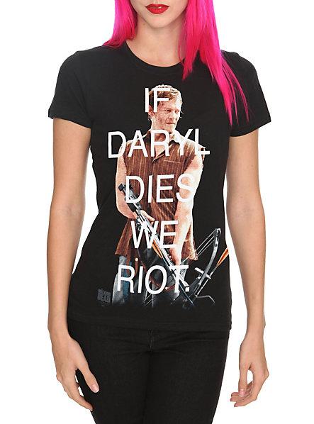 The Walking Dead Daryl Riot Girls T-Shirt | Hot Topic