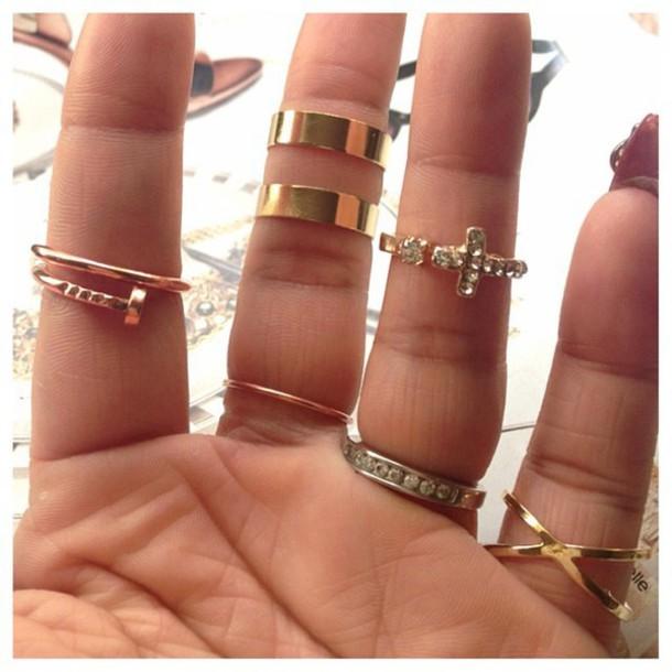 jewels ring set knuckle ring hamsa jewelry gold gold jewelry gold ring ring gold midi rings knuckle ring